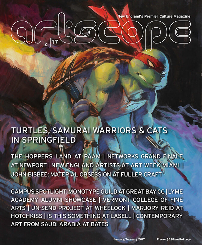 Artscope Magazine Issue 66 - January/February 2017