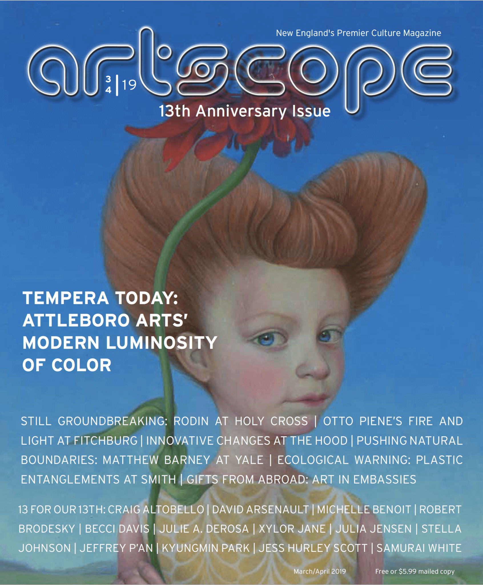 Artscope Magazine | March/April 2019