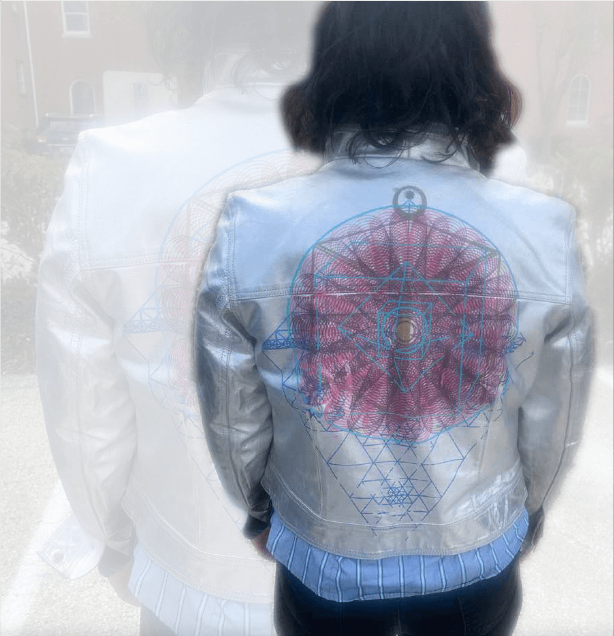five-layer silver jacket silkscreen by Alison C. Wallis | Artscope Magazine