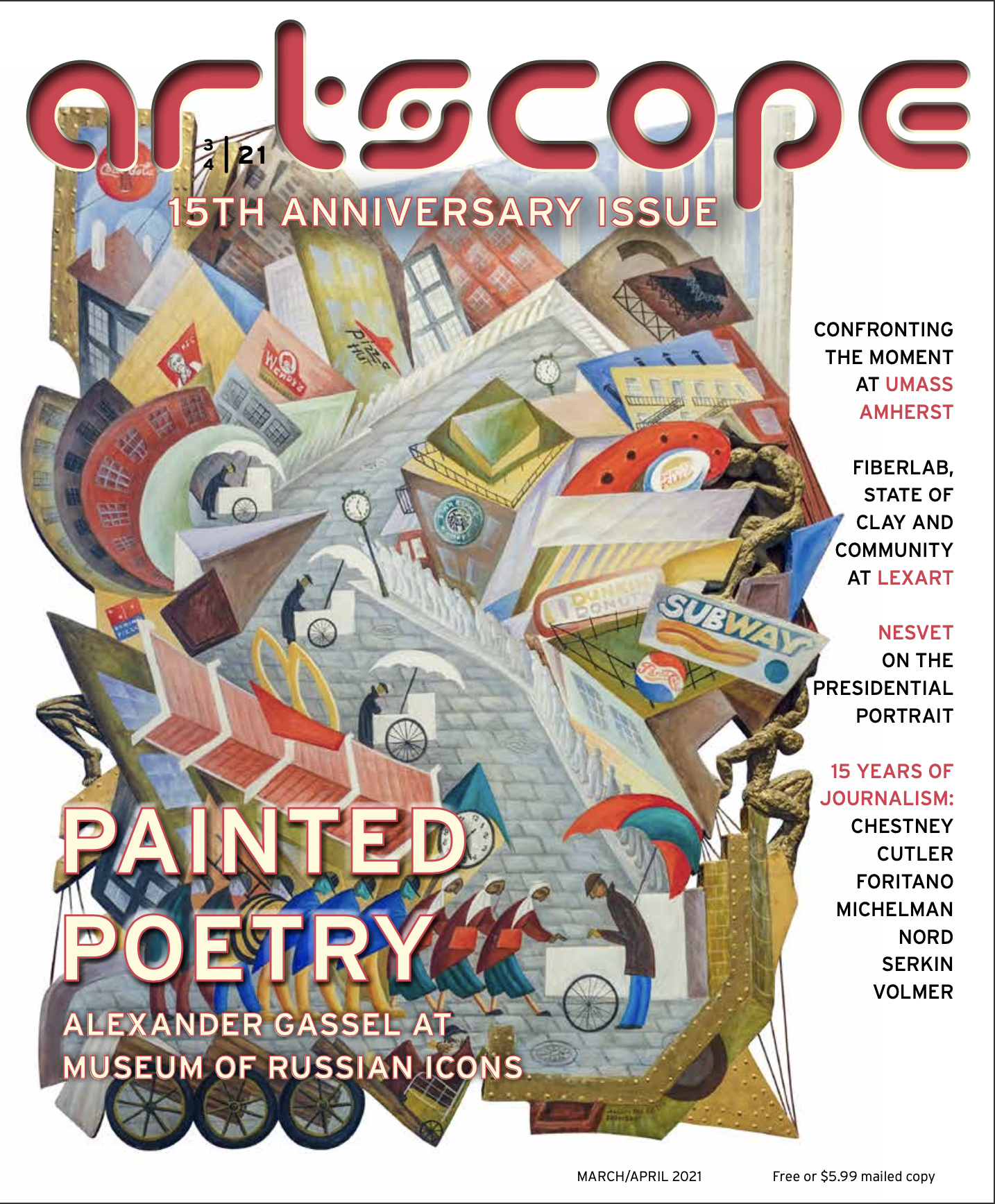 Artscope Magazine | March/April 2021